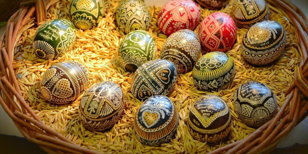 Húsvéti hímes tojások (Fotó: Pixabay)